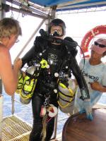 Commercial Diver/Wreck Diver Fred Evans